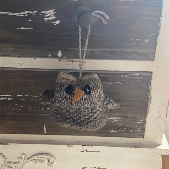 Cute Handmade knitted owl 🦉